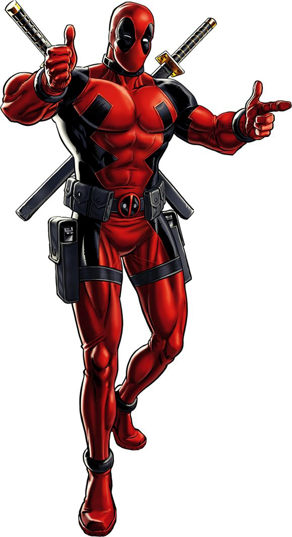 Cartoon height cm decal. Deadpool clipart