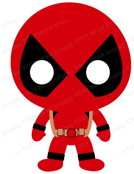 Superhero clip art batman. Deadpool clipart