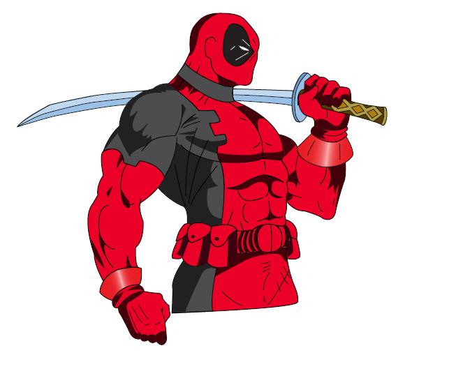 . Deadpool clipart