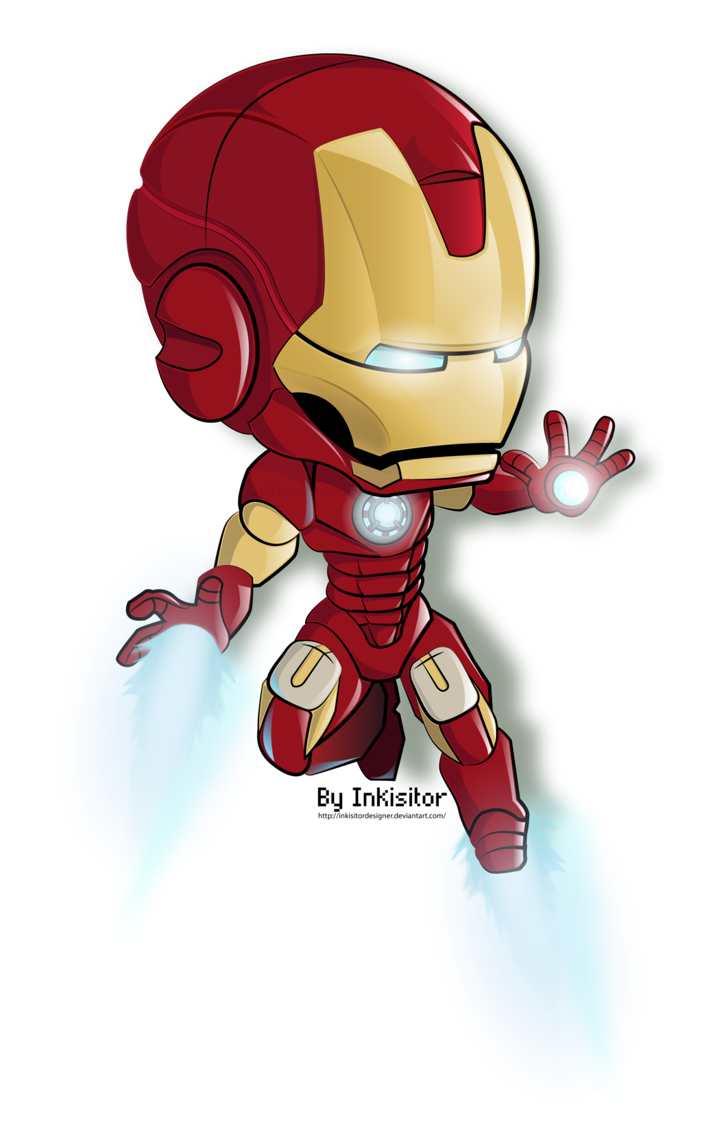 superheroes clipart iron man cartoon