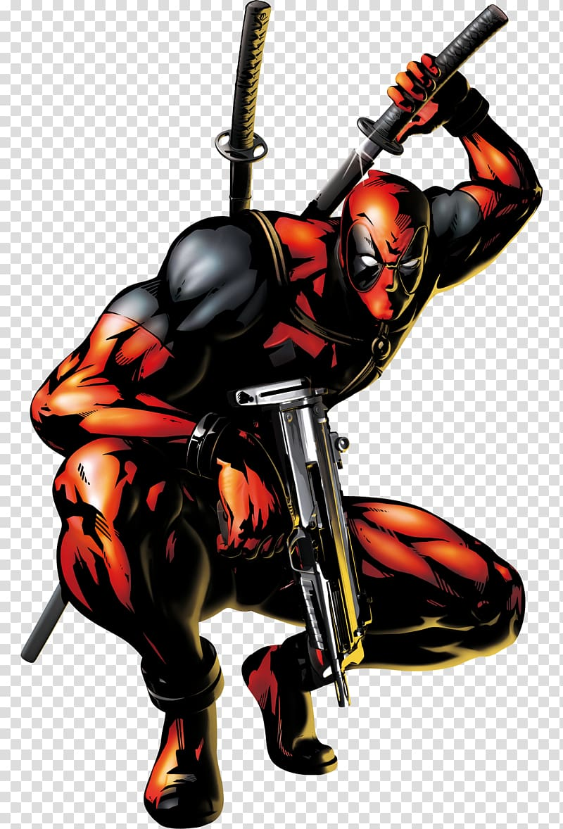 Deadpool clipart marvel ultimate alliance 2. Png images free download