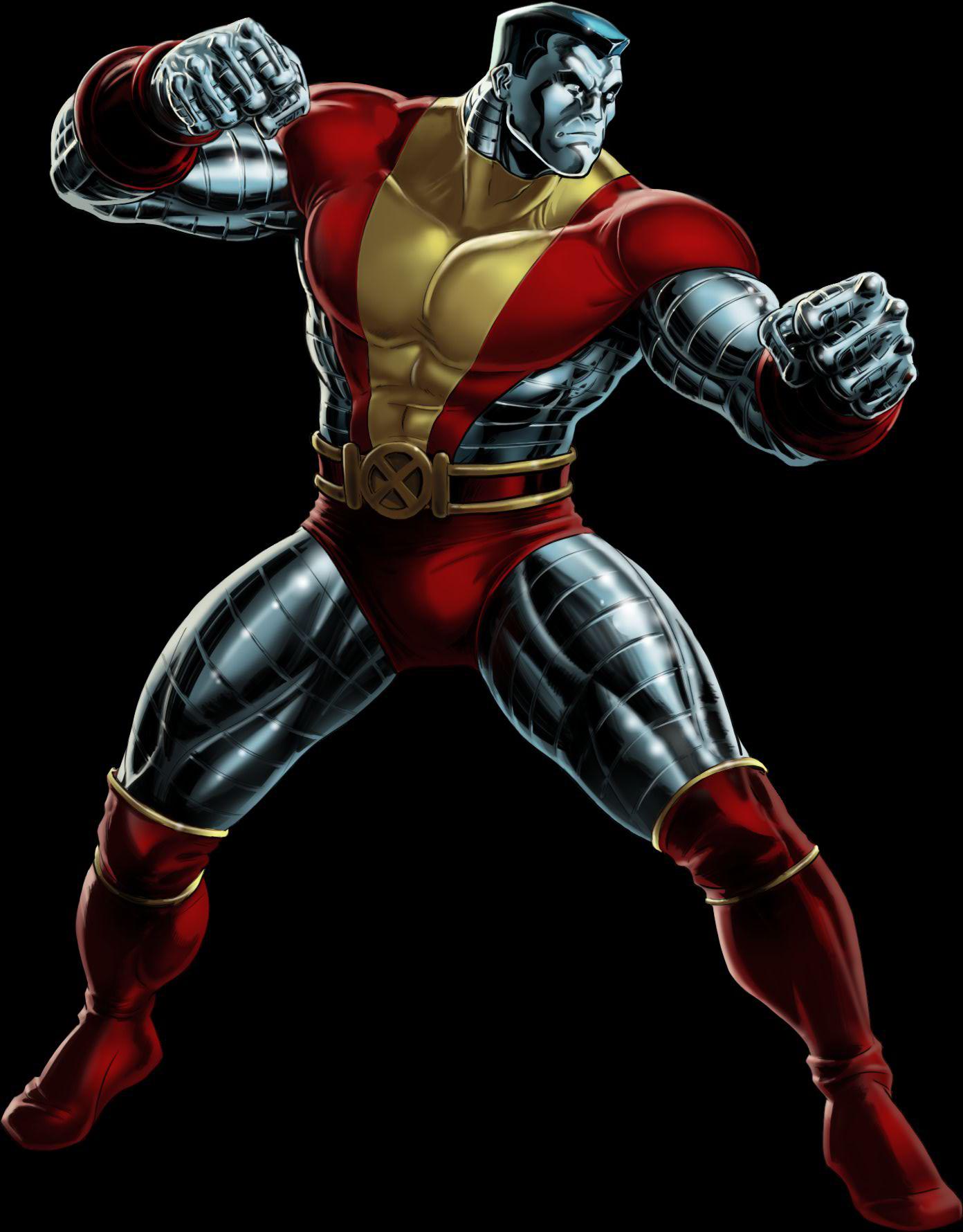 Colossus comics vs ironclad. Deadpool clipart marvel ultimate alliance 2