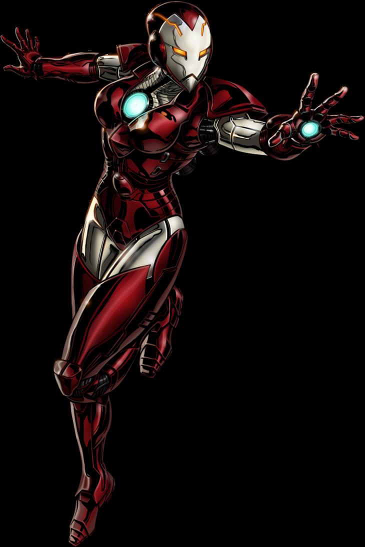 Deadpool clipart marvel ultimate alliance 2. Iron woman fan art