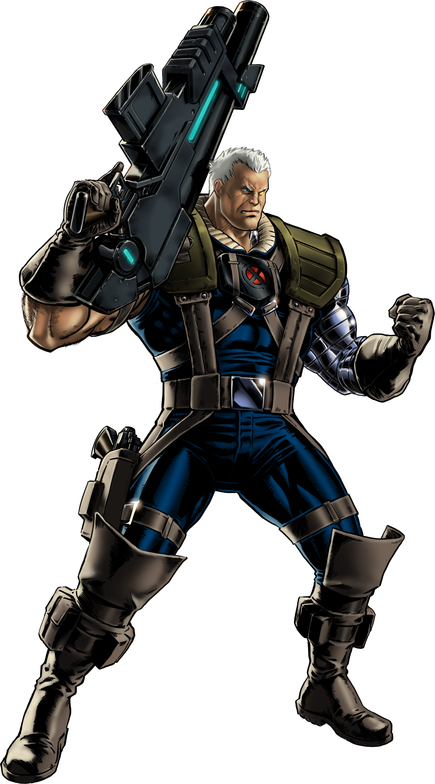 Deadpool clipart marvel ultimate alliance 2. Cable nathan summers earth