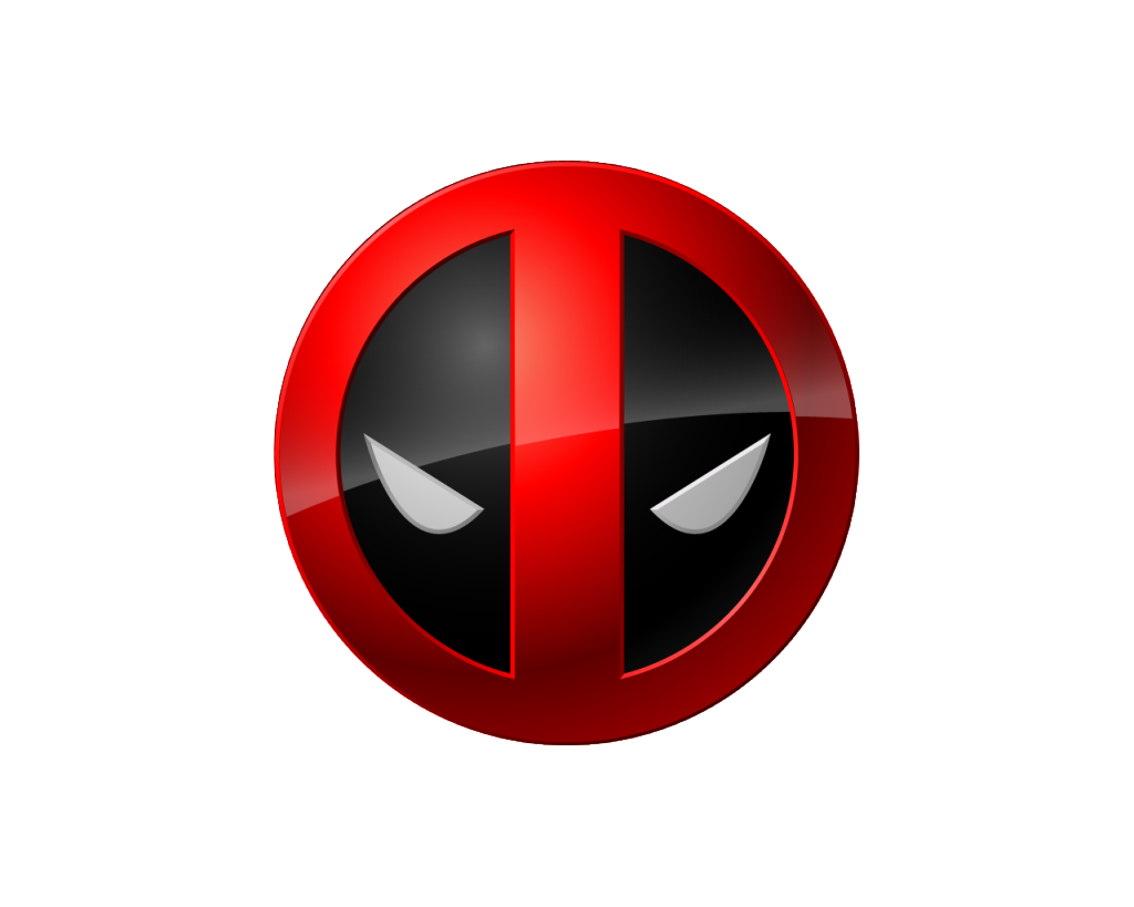Logo do deadpool legais. Youtube clipart badass