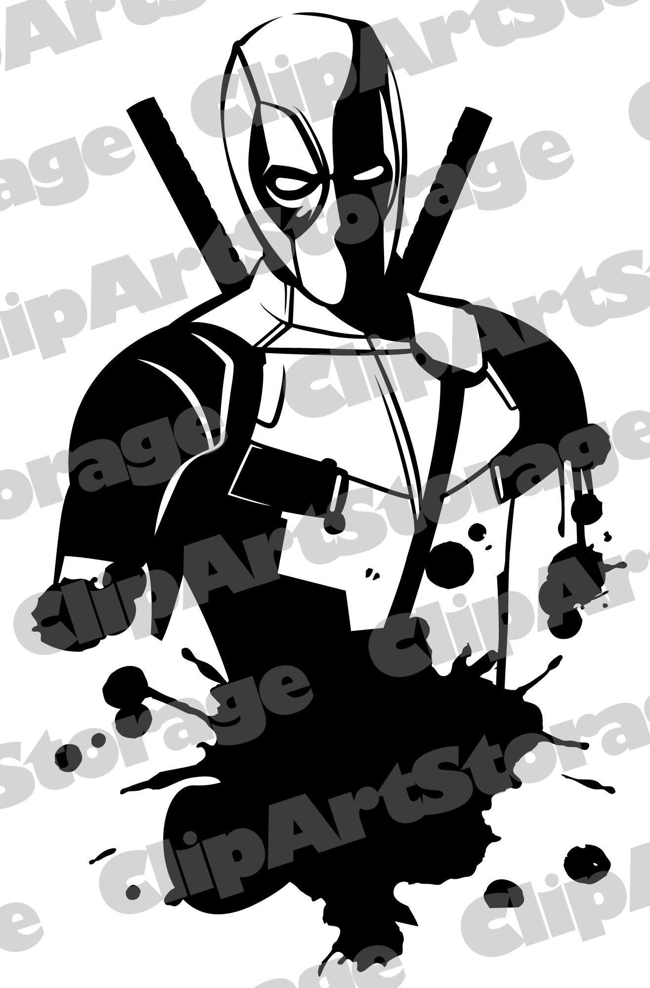 Deadpool Clipart Svg Deadpool Svg Transparent Free For