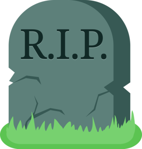Image tombstone dead grave. Death clipart