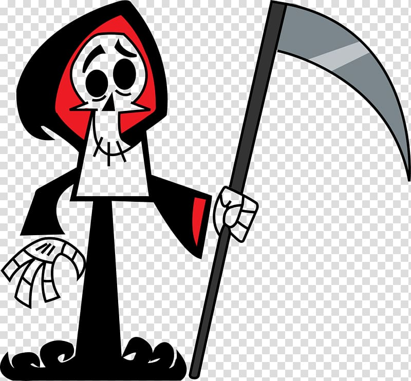 Death clipart animated. The grim adventures of