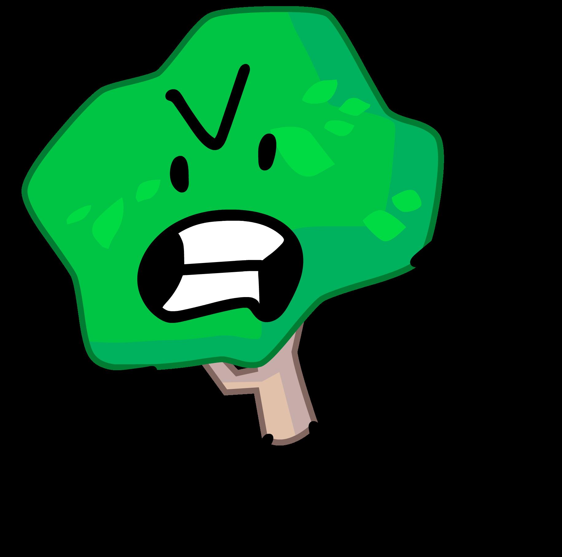 Tree battle for dream. Eraser clipart green
