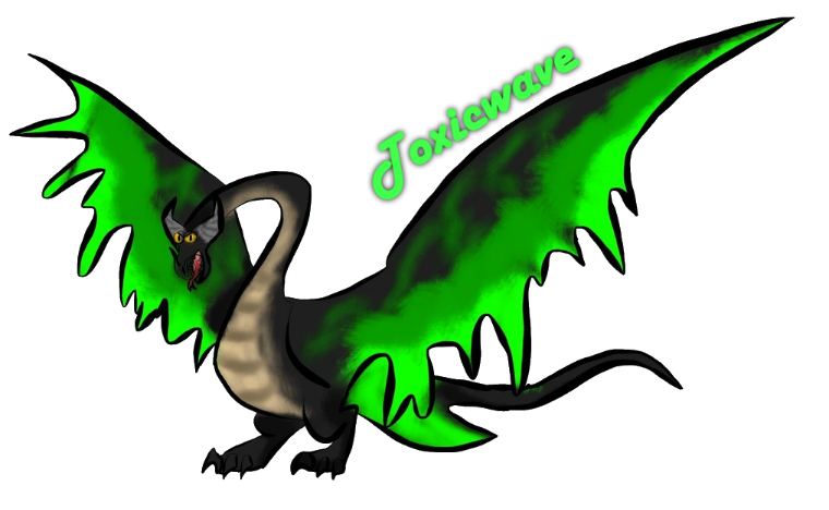 Can someone draw my. Death clipart dead dragon