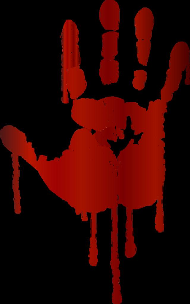 dead in cizre. Handprint clipart 12 child