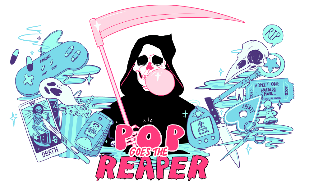 Death clipart end life. Pop goes the reaper