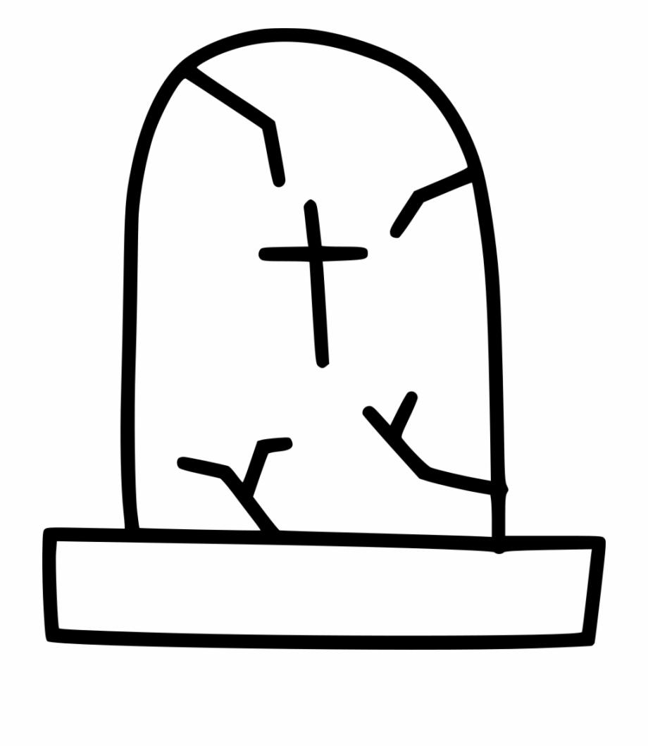 Funeral clipart grave. Death gravestone graveyard cross