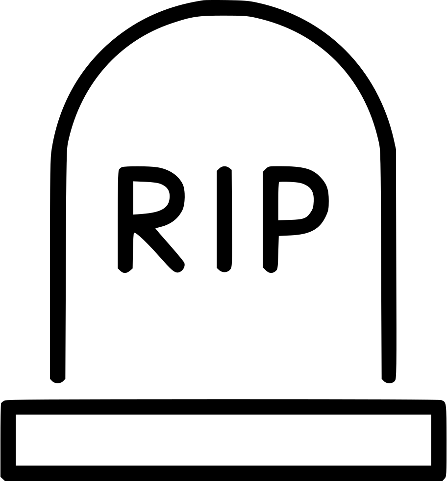 Faith clipart rip cross. Gravestone tombstone rest svg