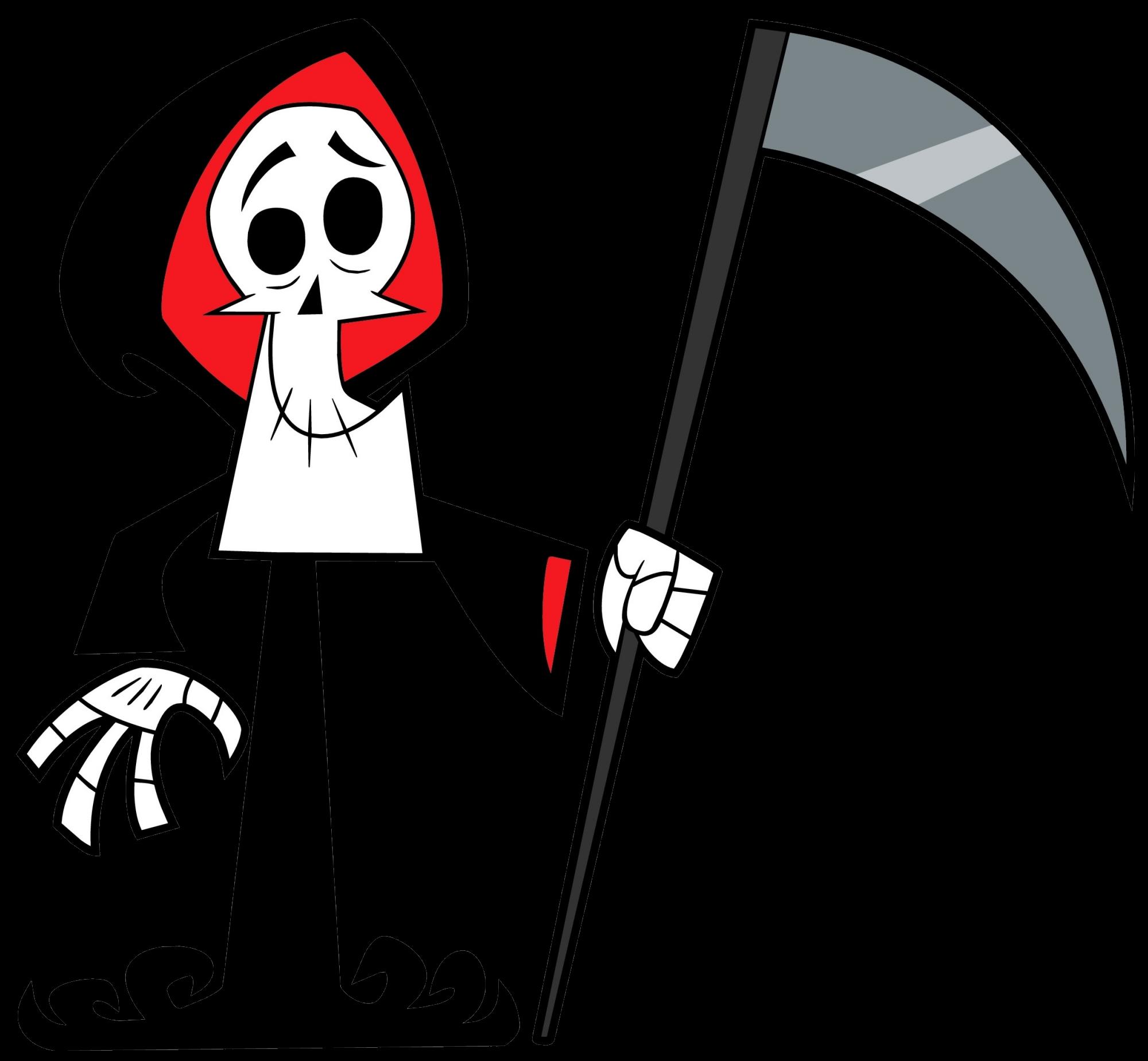 Grim death battle fanon. Skeleton clipart toon