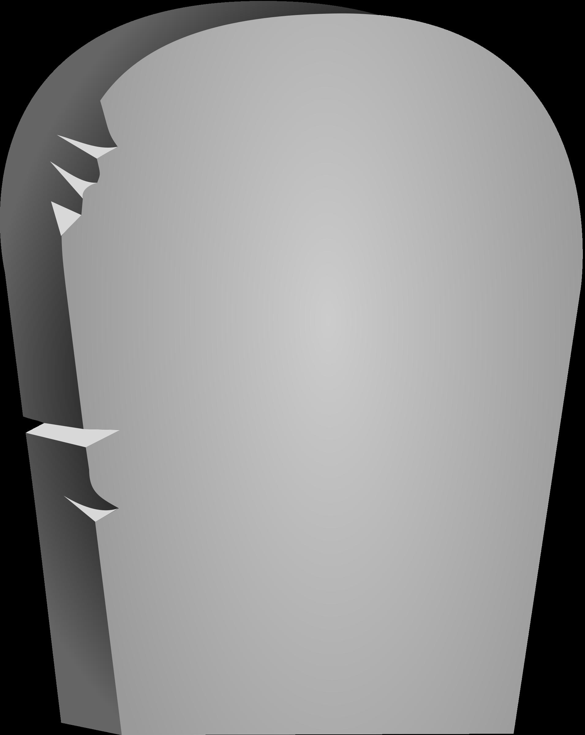 Halloween rounded tombstone big. Headstone clipart cartoon
