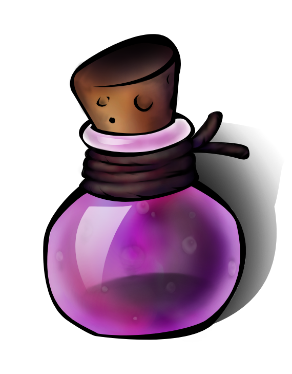 Ground clipart pit. Death potion free on