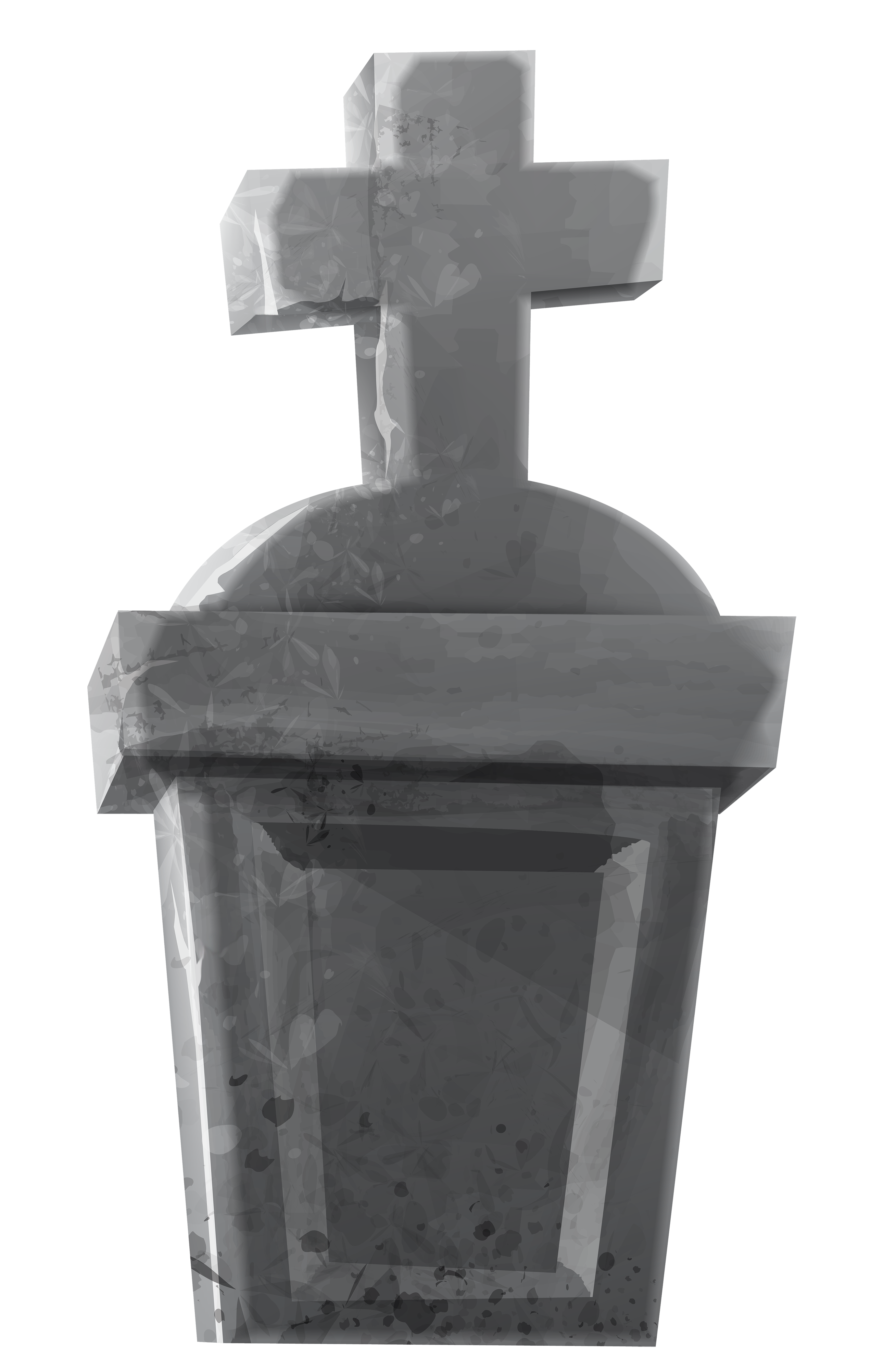 Rip cross . Headstone clipart head stone