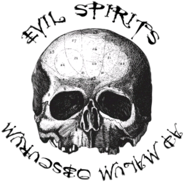 Evil darkness . Death clipart scull