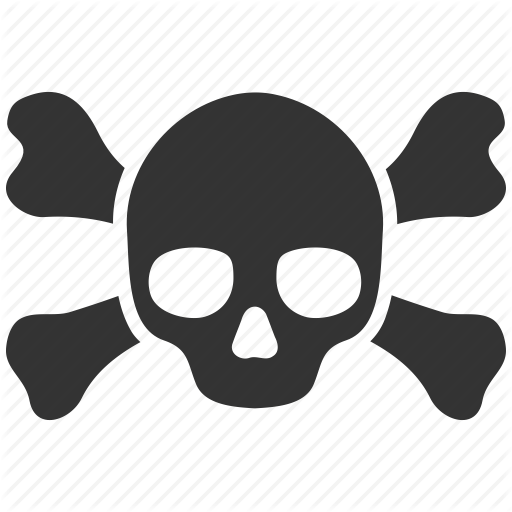 Death clipart scull. Icon free icons library