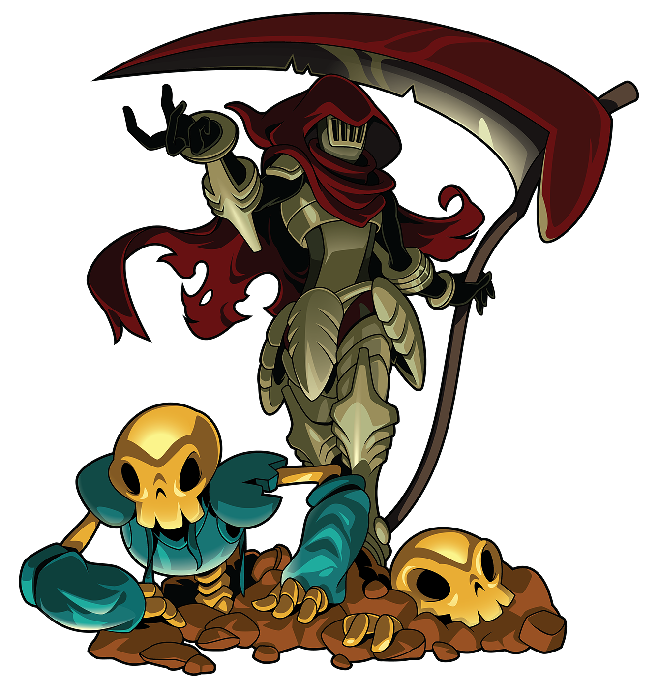 Specter knight vsdebating wiki. Square clipart shovel