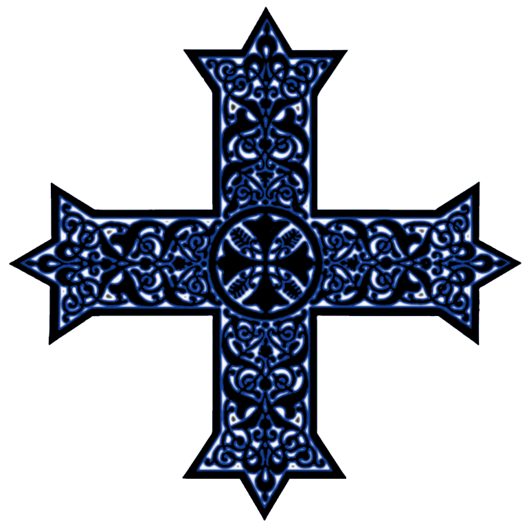 Missions clipart coptic. Crosses in liturgical colors