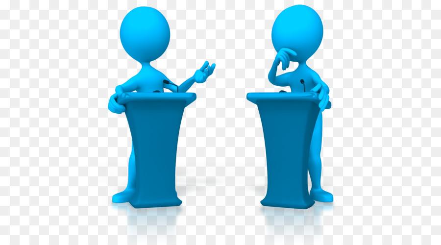Animation stick figure presentation. Debate clipart