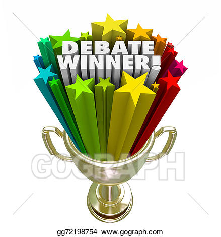 Stock illustration debate gold. Prize clipart competition winner