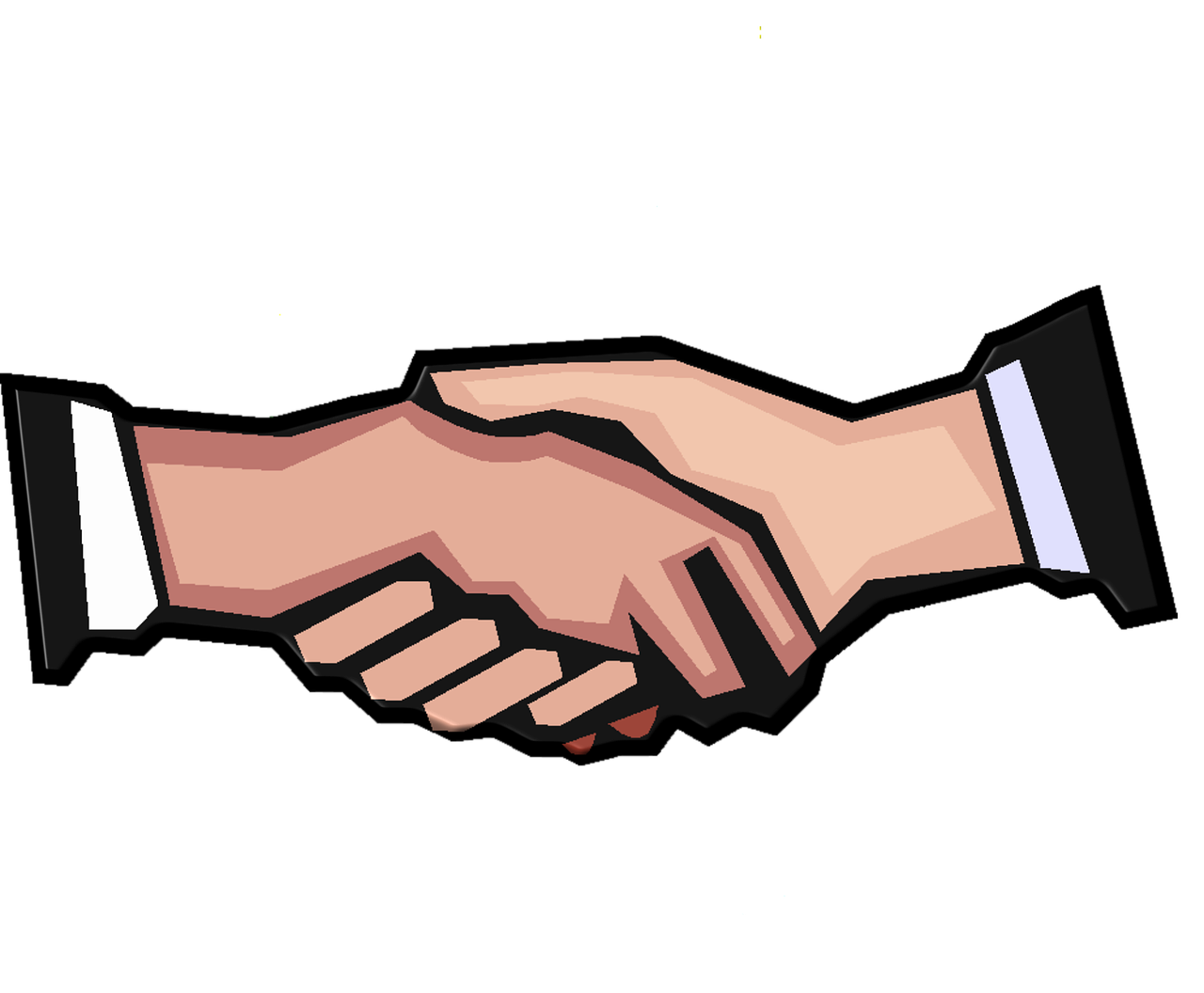 Handshake clipart conflict. Group case page improving