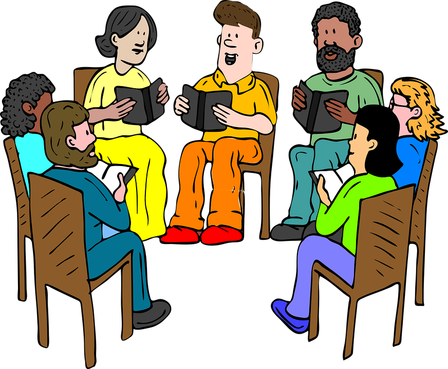 Discussion clipart group task. Extempore cliparthot of disability