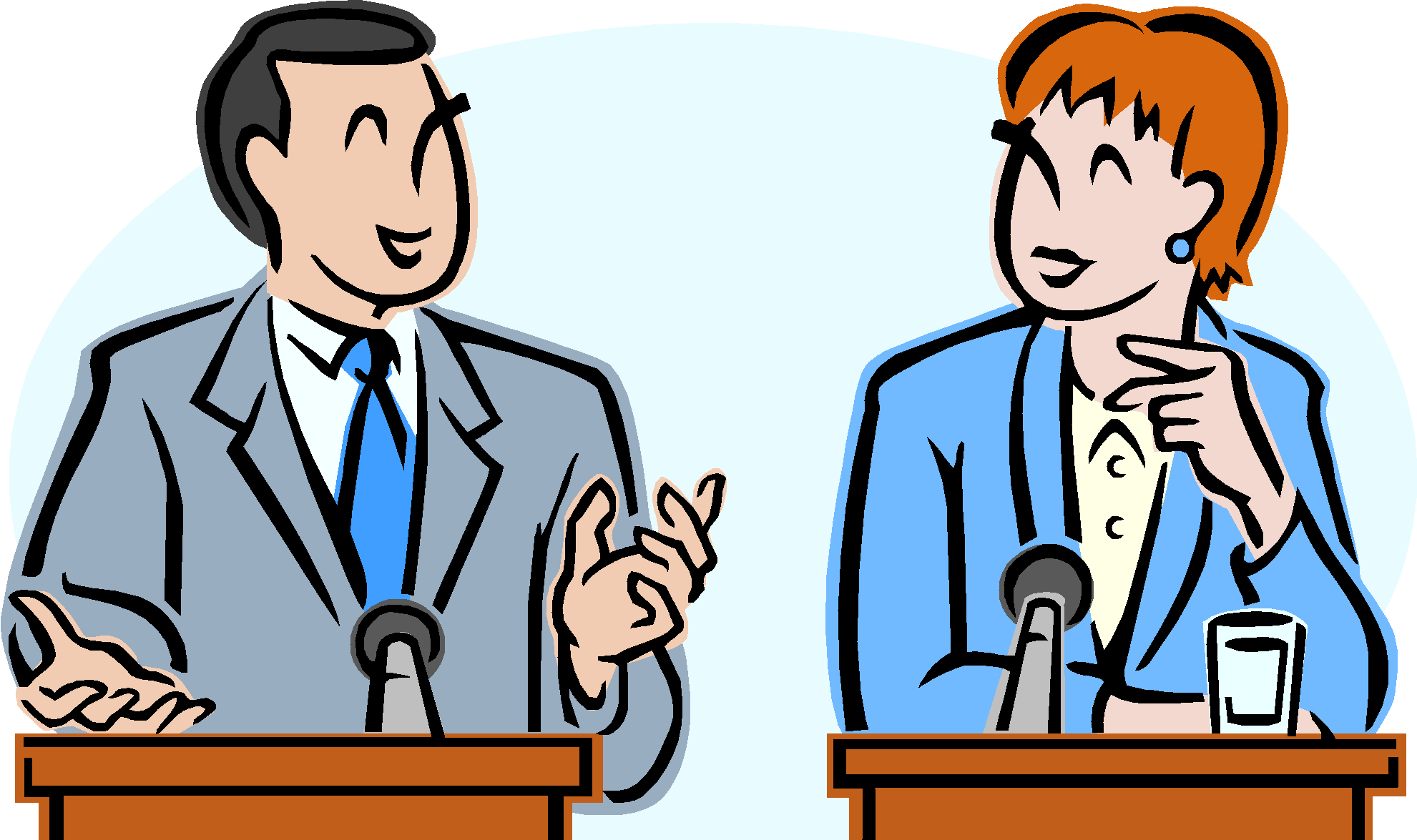 Topic the no monkey. Debate clipart kid discussion