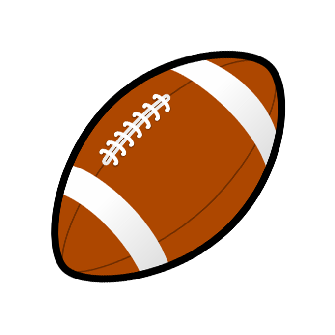 Opponent group. Football clipart clear background