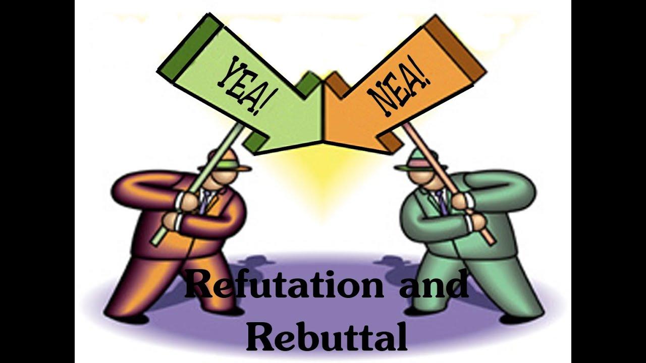 Lesson refutation and rebuttal. Debate clipart parliamentary debate