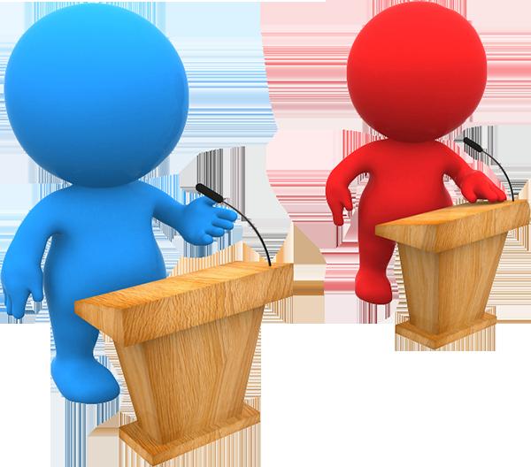 Become an author new. Politics clipart debate