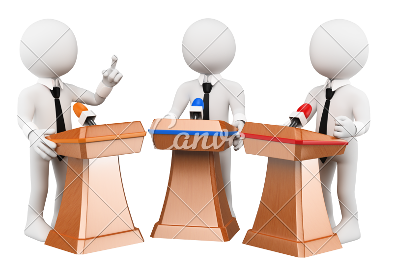 Discussion clipart office discussion.  d political debate