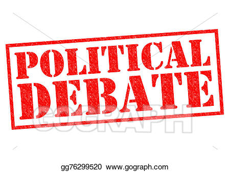 Debate clipart political situation. Stock illustration illustrations
