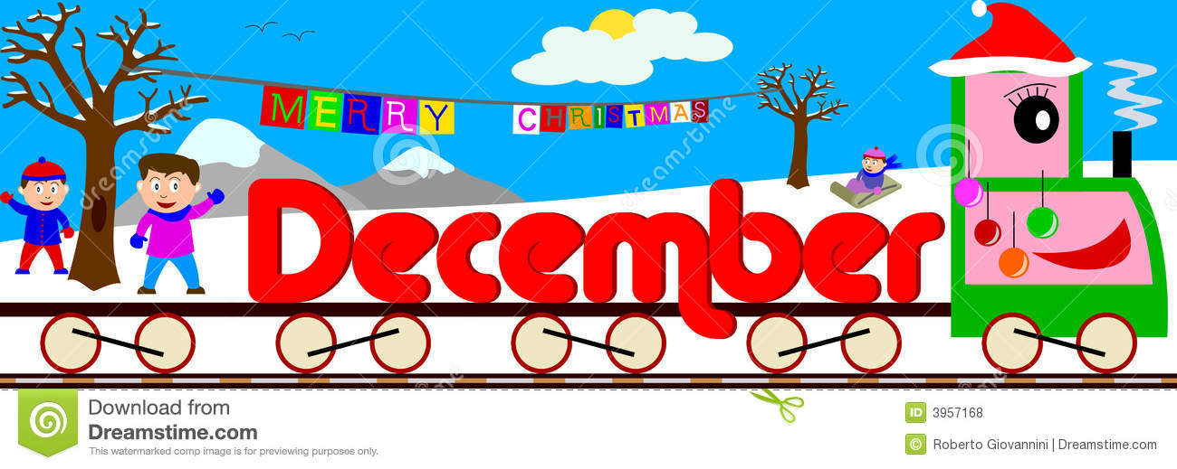 December clipart. Station