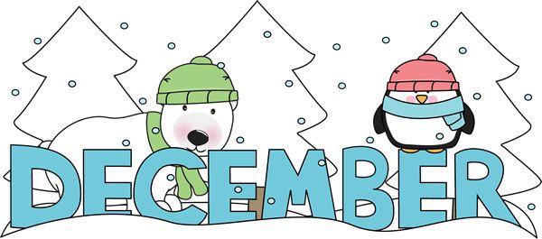 . December clipart