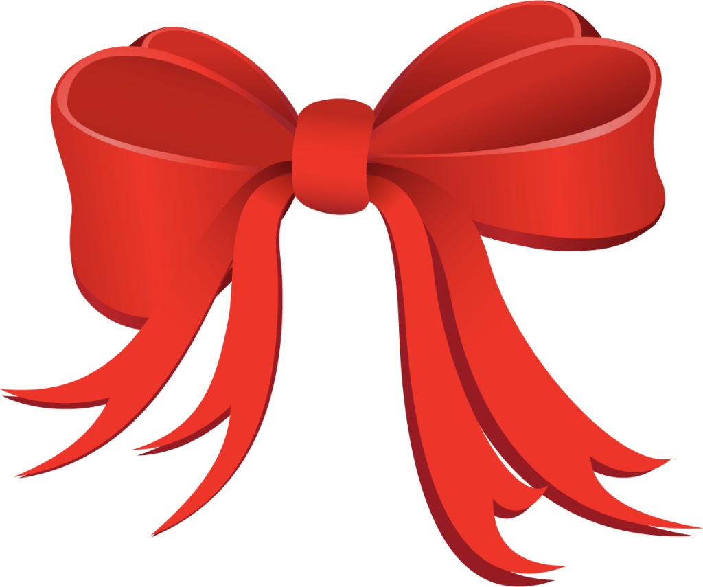 New holiday specials announced. Bows clipart red
