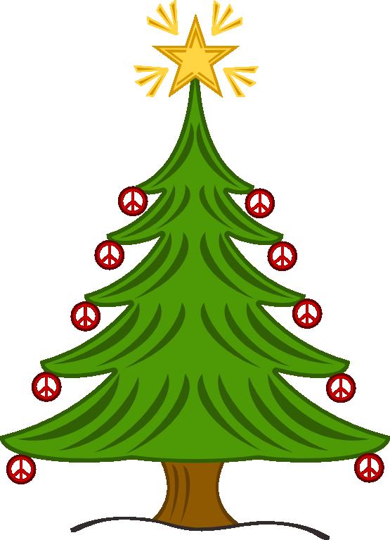 December clipart christmas tree. Clipartist net clip art
