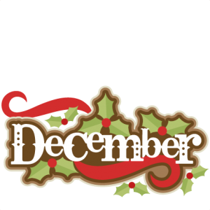 December clipart cute. K zz t ve