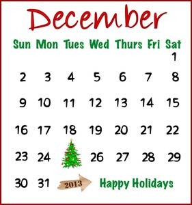 Free calendar cliparts download. December clipart december calender