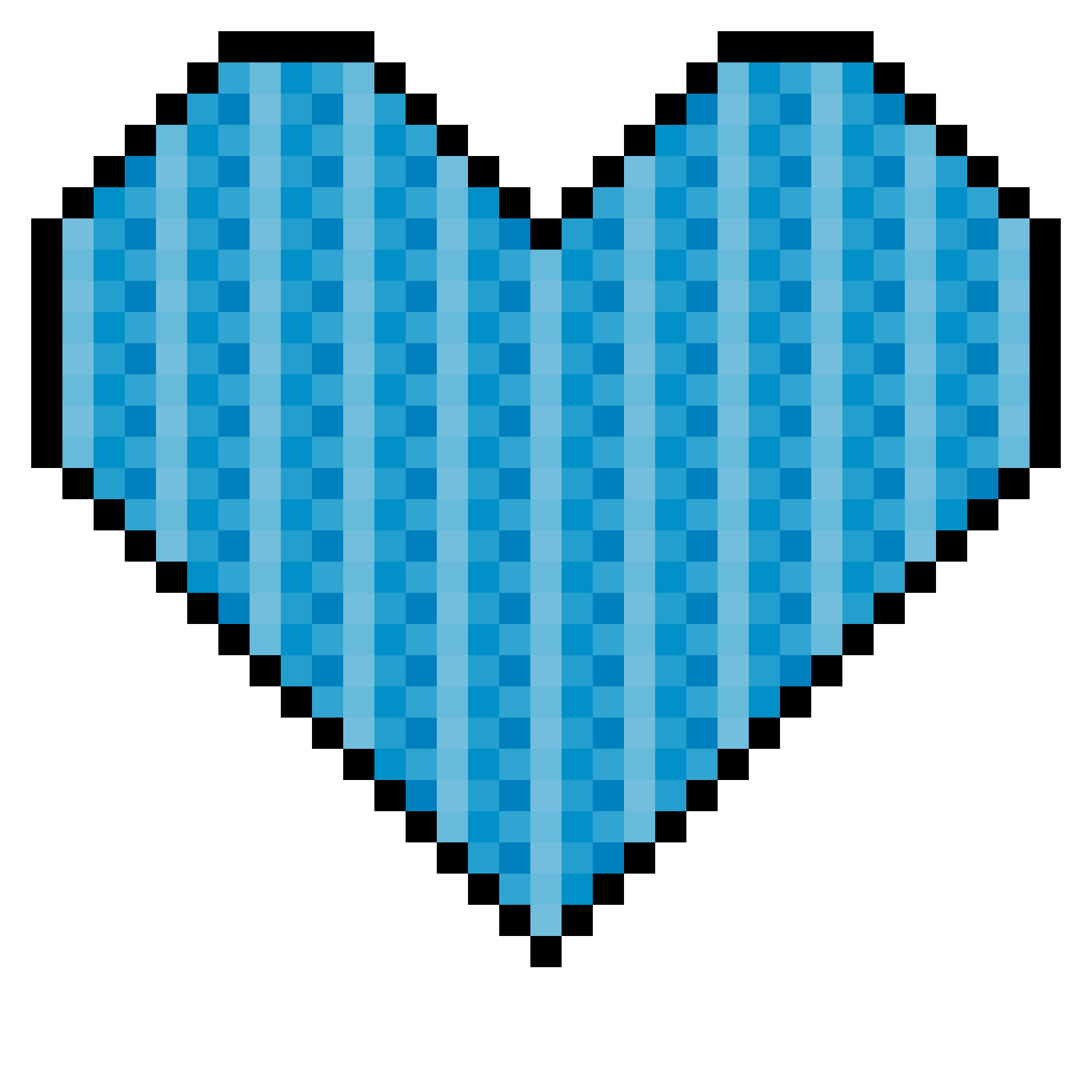 Pixel art . Minecraft clipart minecraft heart