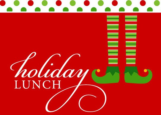 Luncheon free download best. December clipart holiday lunch