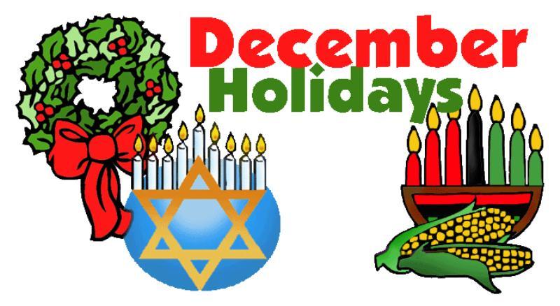 December clipart holiday season. Free download clip art
