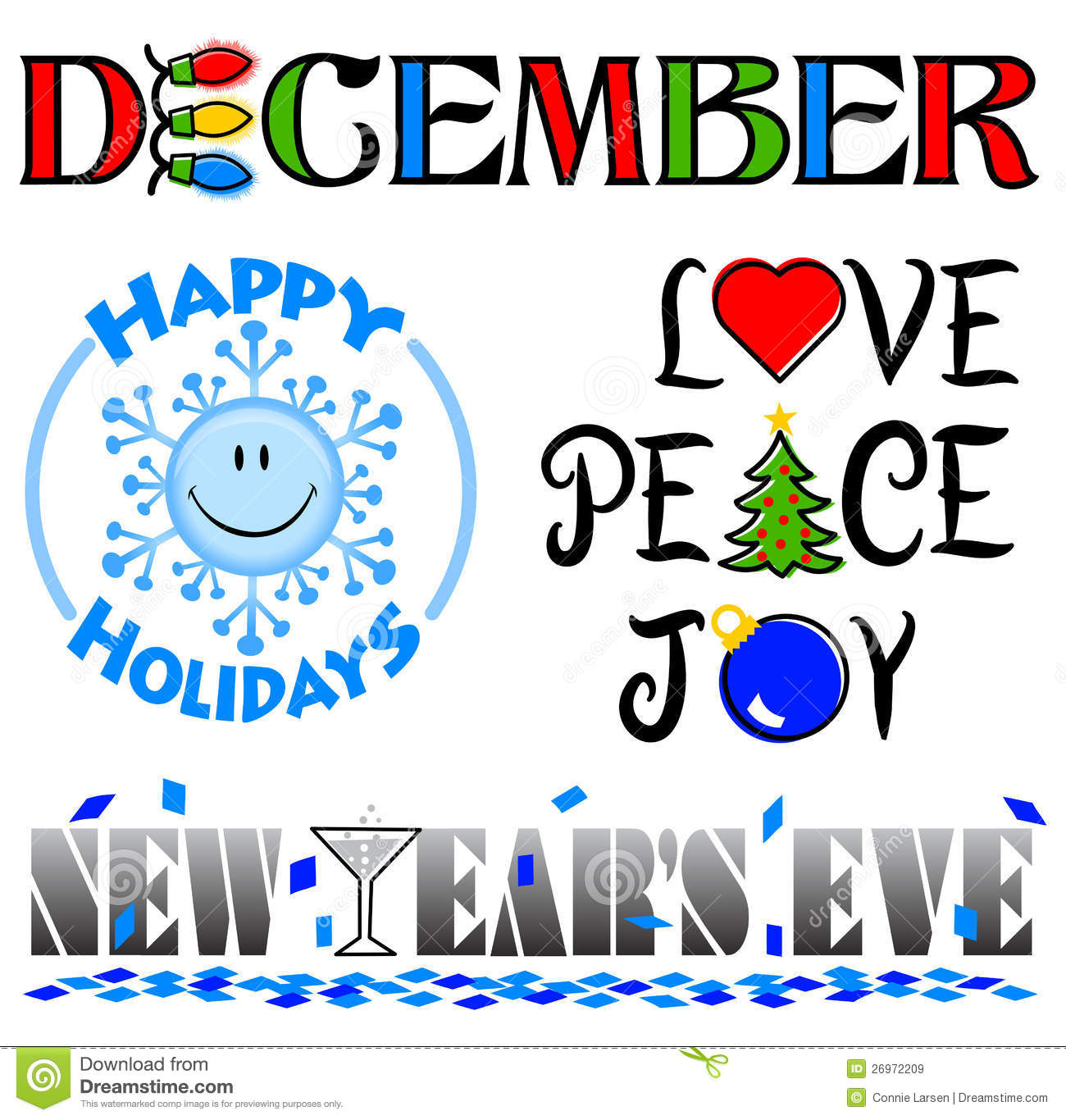 January clipart december. Free events cliparts download
