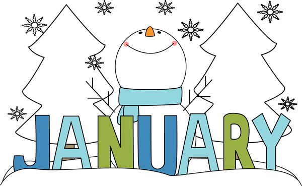 Free cliparts download clip. Preschool clipart january
