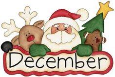 December clipart late.  best cute calendars
