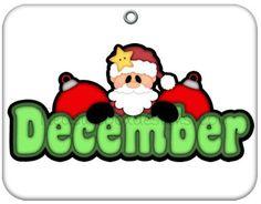 best cute calendars. December clipart late