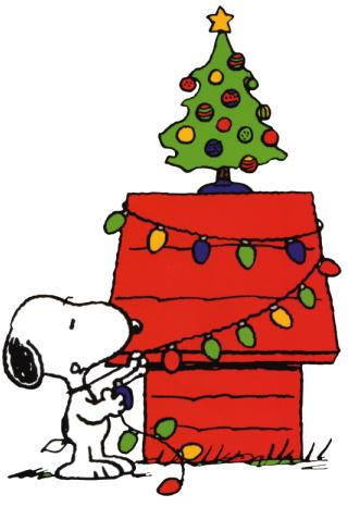 Peanuts clipart holiday. December free large images